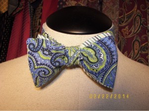 blue paisley bf tied