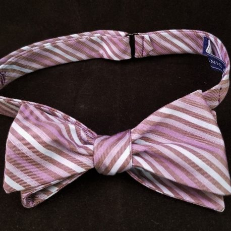 purple stripe bw tied