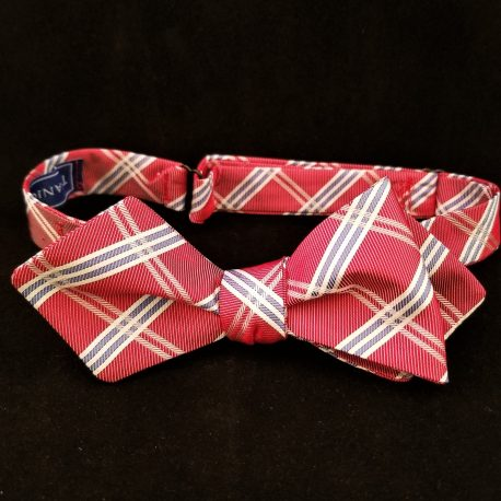 red plaid dp tied