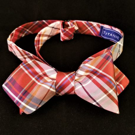 rust plaid dp tied
